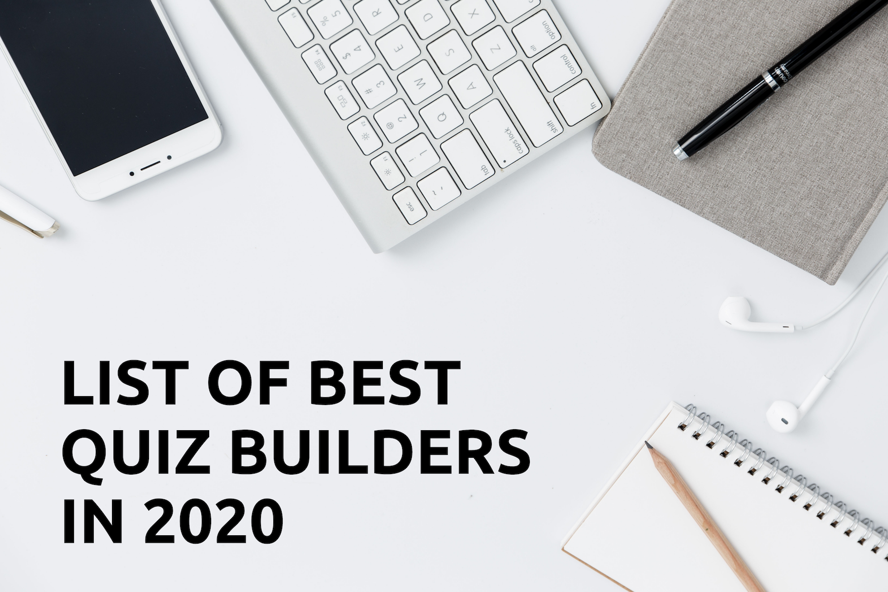 BEST QUIZ BUILDERS IN 2020